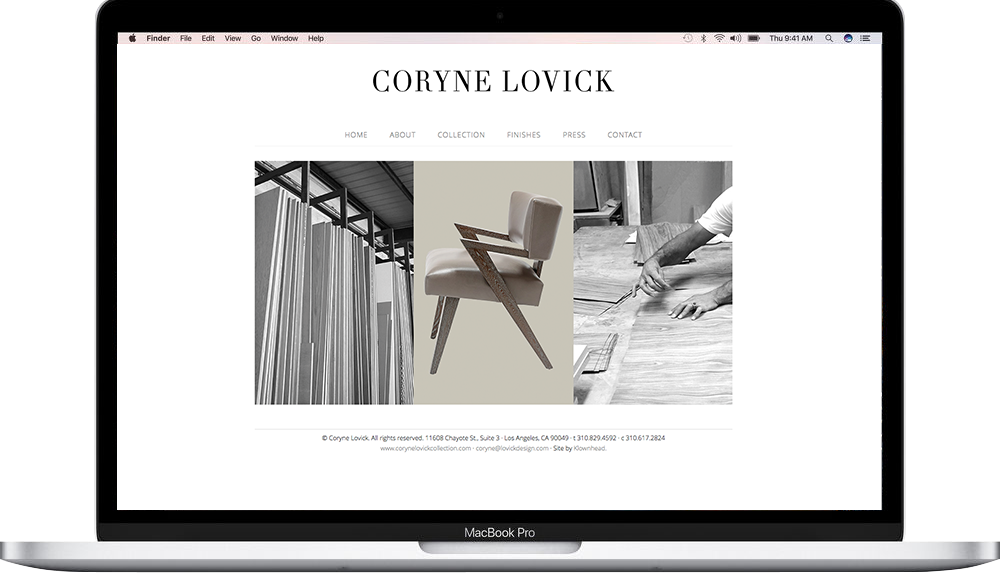 Coryne Locivk Collection