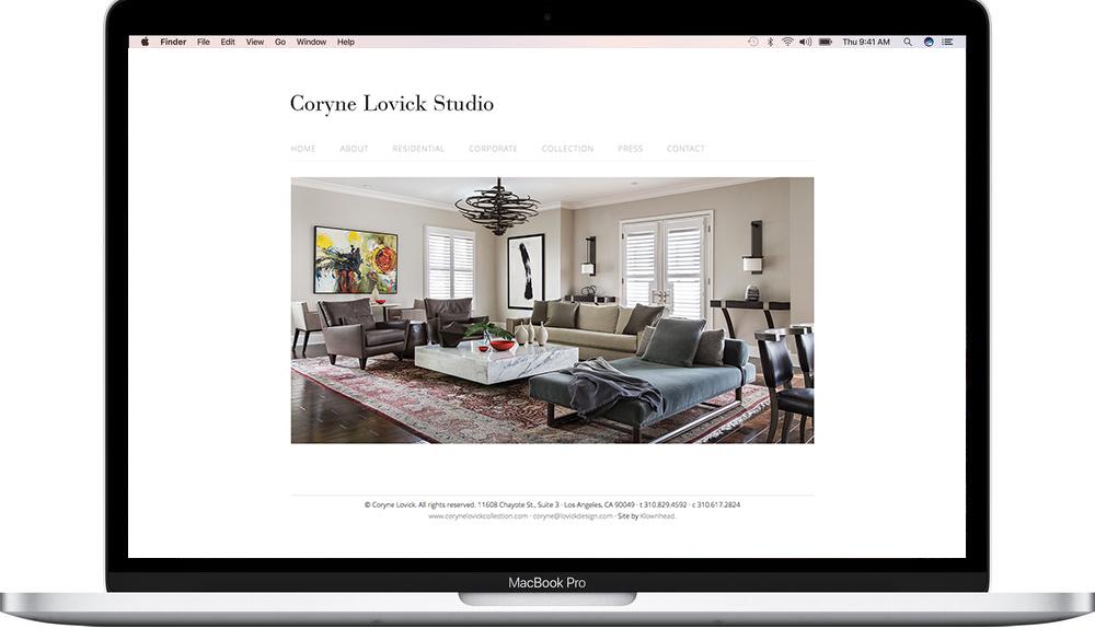 Coryne Lovick Design